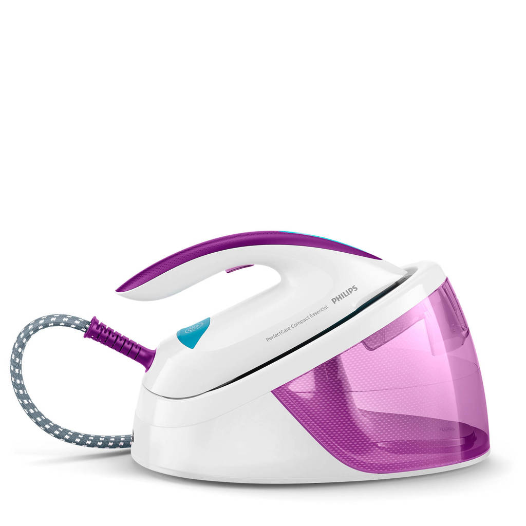 Philips GC6802/30 PerfectCare Compact Essential stoomgenerator, Purple,White