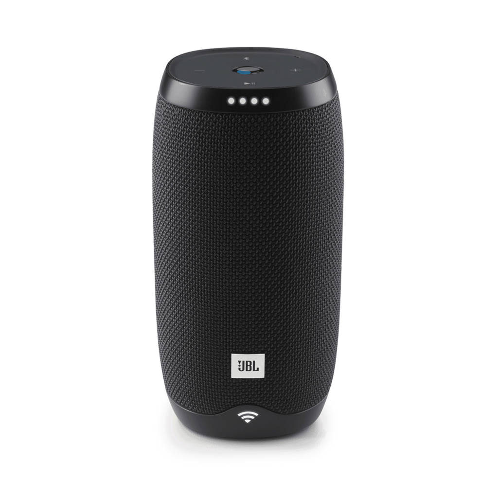 JBL LINK10BLKEU Wifi/Bluetooth speaker met Chrome Cast (zwart), Zwart