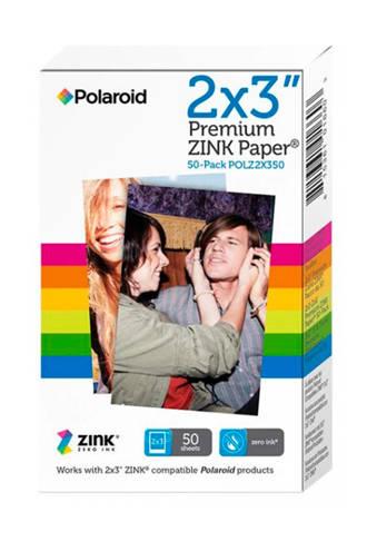 """""""Zink 2x3"""""""" 50 vellen"""" fotopapier"""