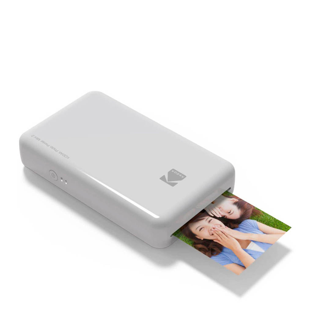 Kodak Mini 2 fotoprinter, Wit