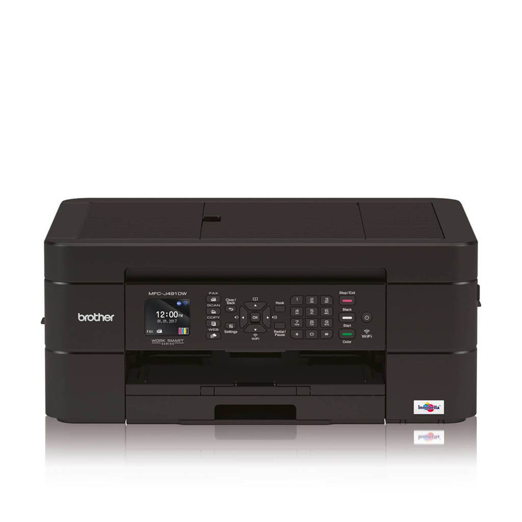 Brother MFC-J491DW all-in-one printer, N.v.t.