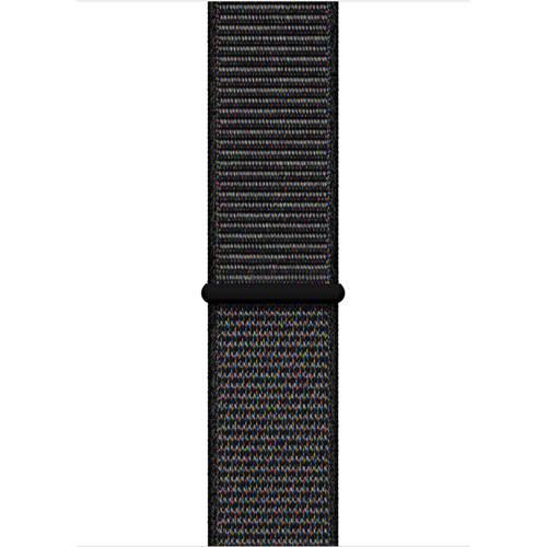 Apple Apple MTP52ZM/A siliconen sport horlogeband 44 mm zwart kopen