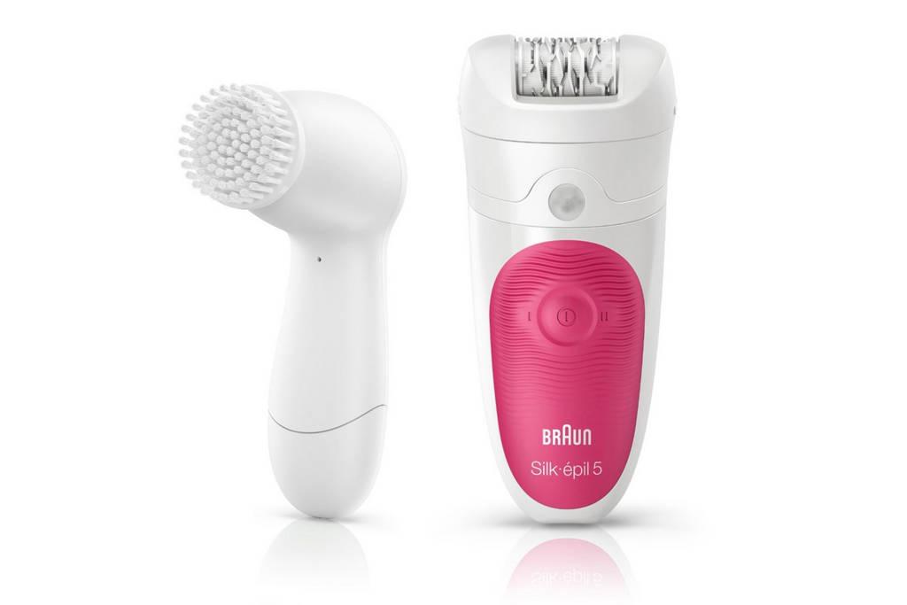 Braun Silk-épil 5 5-539 Wet & Dry epilator + gezichtsreinigingsborstel