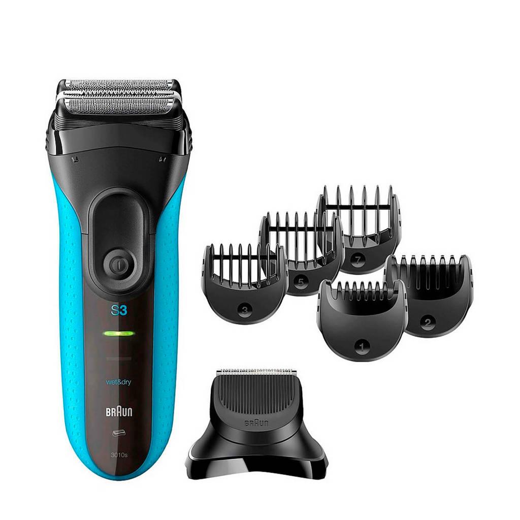 Braun Series 3 Shave&Style 3010BT Wet & Dry 3-In-1 scheerapparaat
