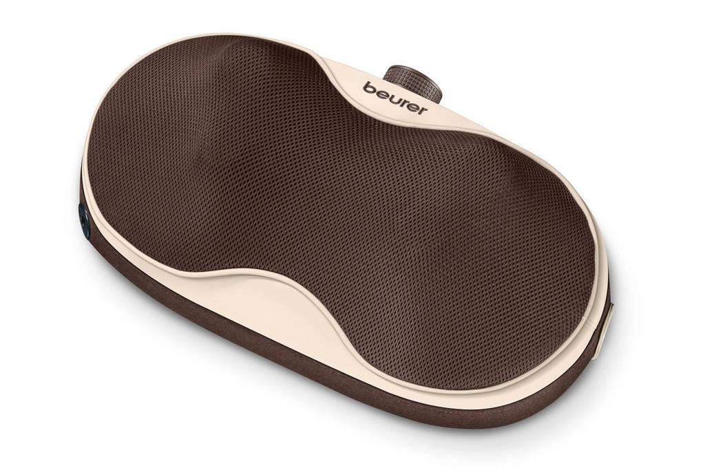 Beurer MG520 To Go Shiatsu oplaadbaar massagekussen - Bruin