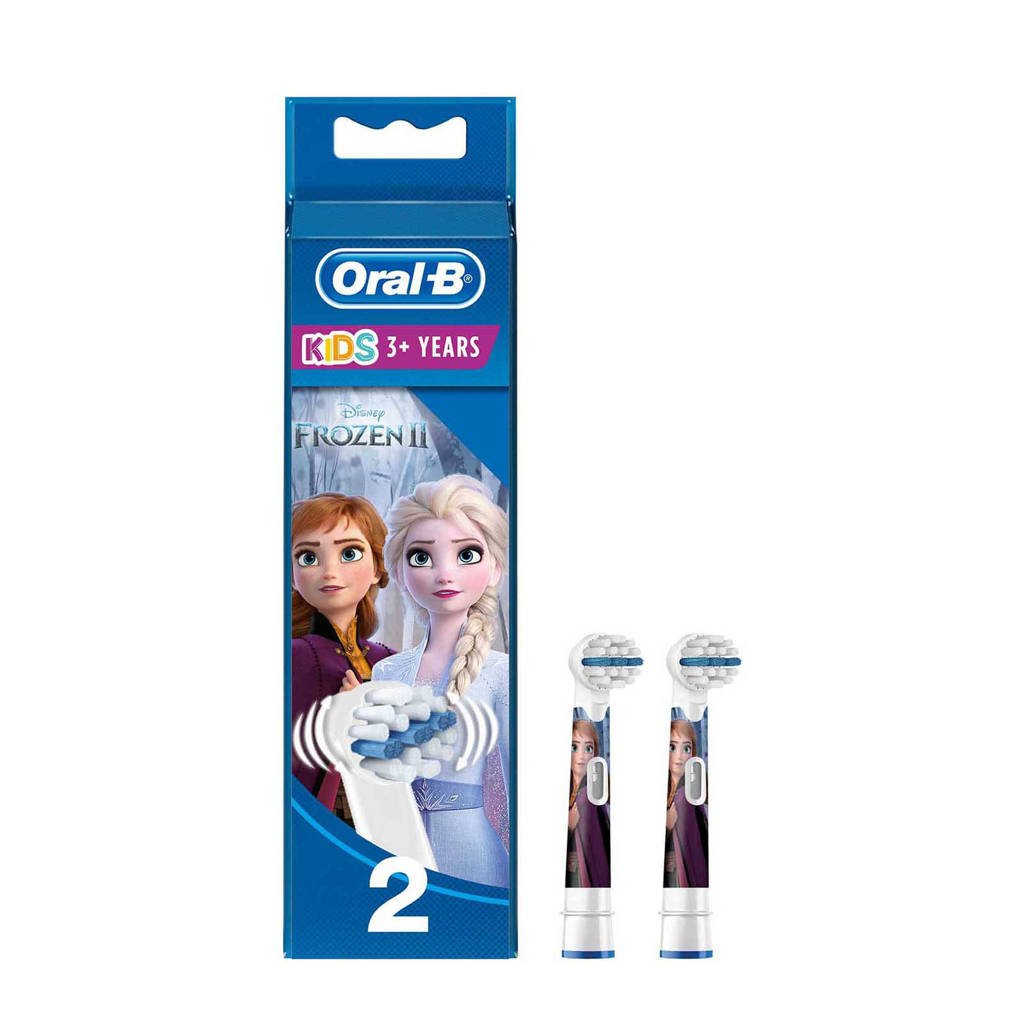 Oral-B Disney Frozen Stages Power Kids Disney Frozen opzetborstels - 2 stuks 92f0b86324c8