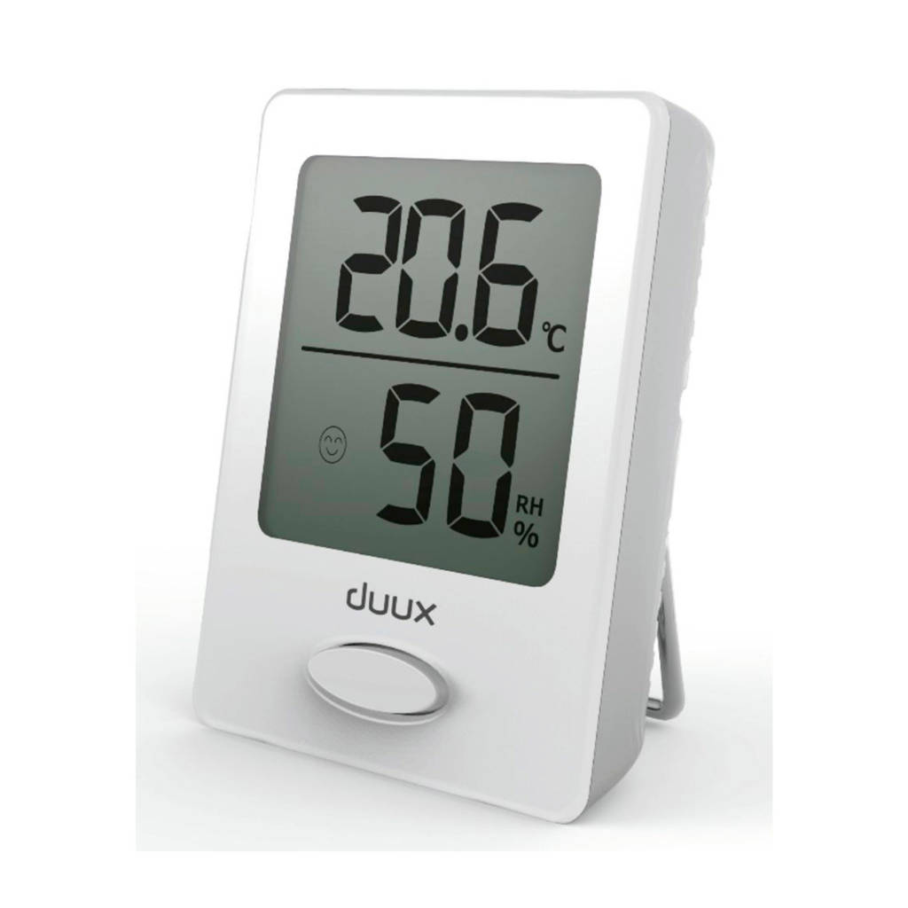 Duux SENSE HYGRO THERMOMETER WHITE Hygrometer en Thermometer, -