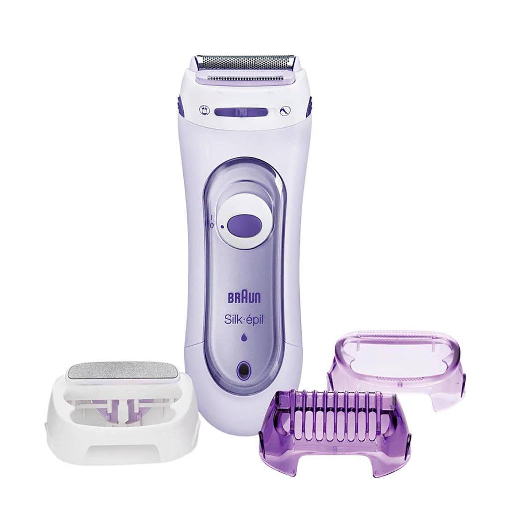 Braun Silk-épil Lady Shaver 5-560 3-in-1 scheerapparaat, trimmer en scrubsysteem
