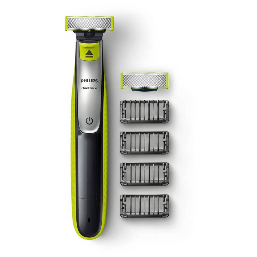 Philips QP2530/30 OneBlade baardtrimmer: 'trimmen, scheren, stylen'