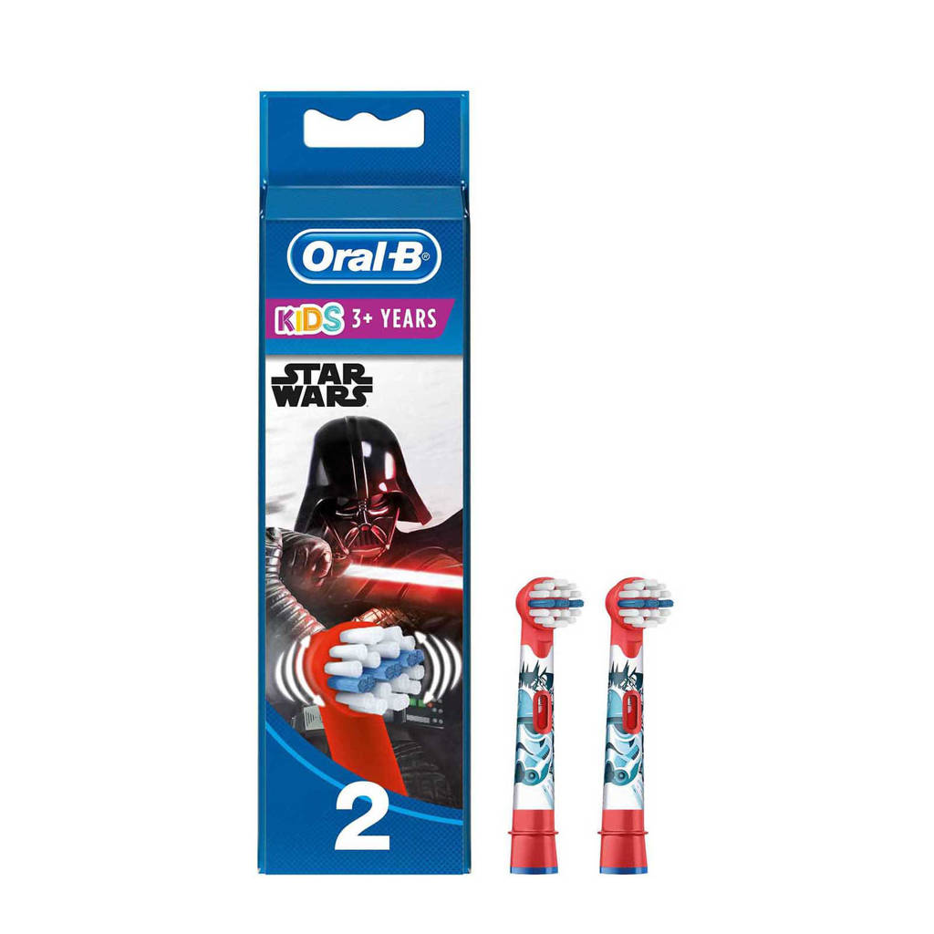 Oral-B Stages Power Kids Disney Star Wars opzetborstels - 2 stuks