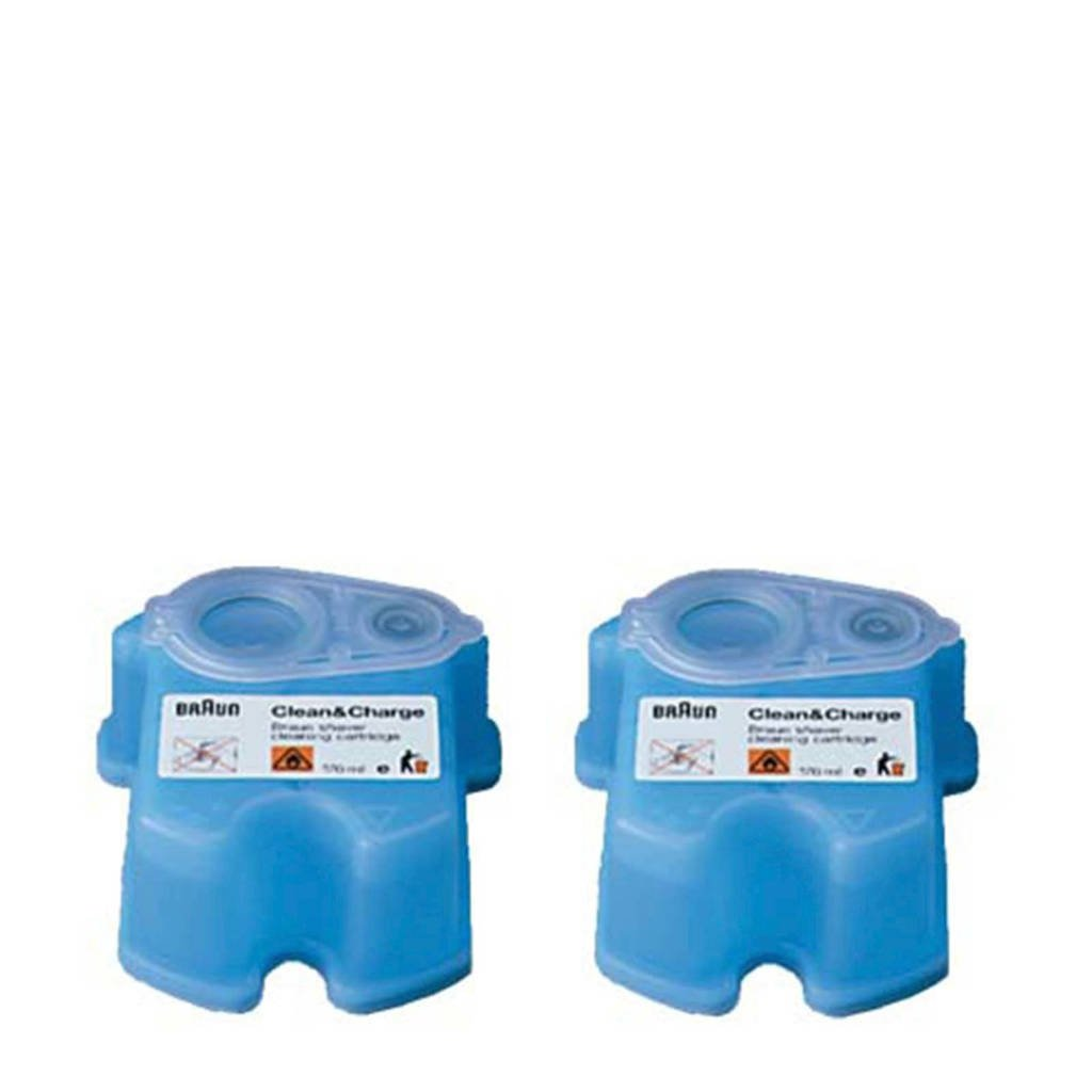 Braun Clean & Renew reinigingsvloeistof - 2 stuks