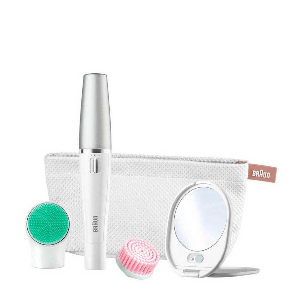 Braun FaceSpa 853V 3 in 1 gezichtsepilator + reinigingsborstel