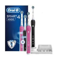 Oral-B SMART 4 4900N Smart 4 4900 elektrische tandenborstel duoverpakking