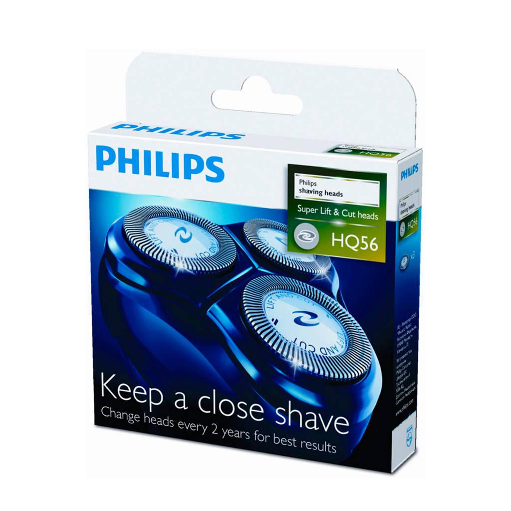 Philips HQ56/50 scheerhoofden (3 stuks)