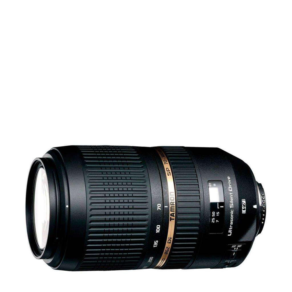 Tamron SP 70-300mm F/4-5.6 Di VC USD Nikon telezoom lens, Zwart