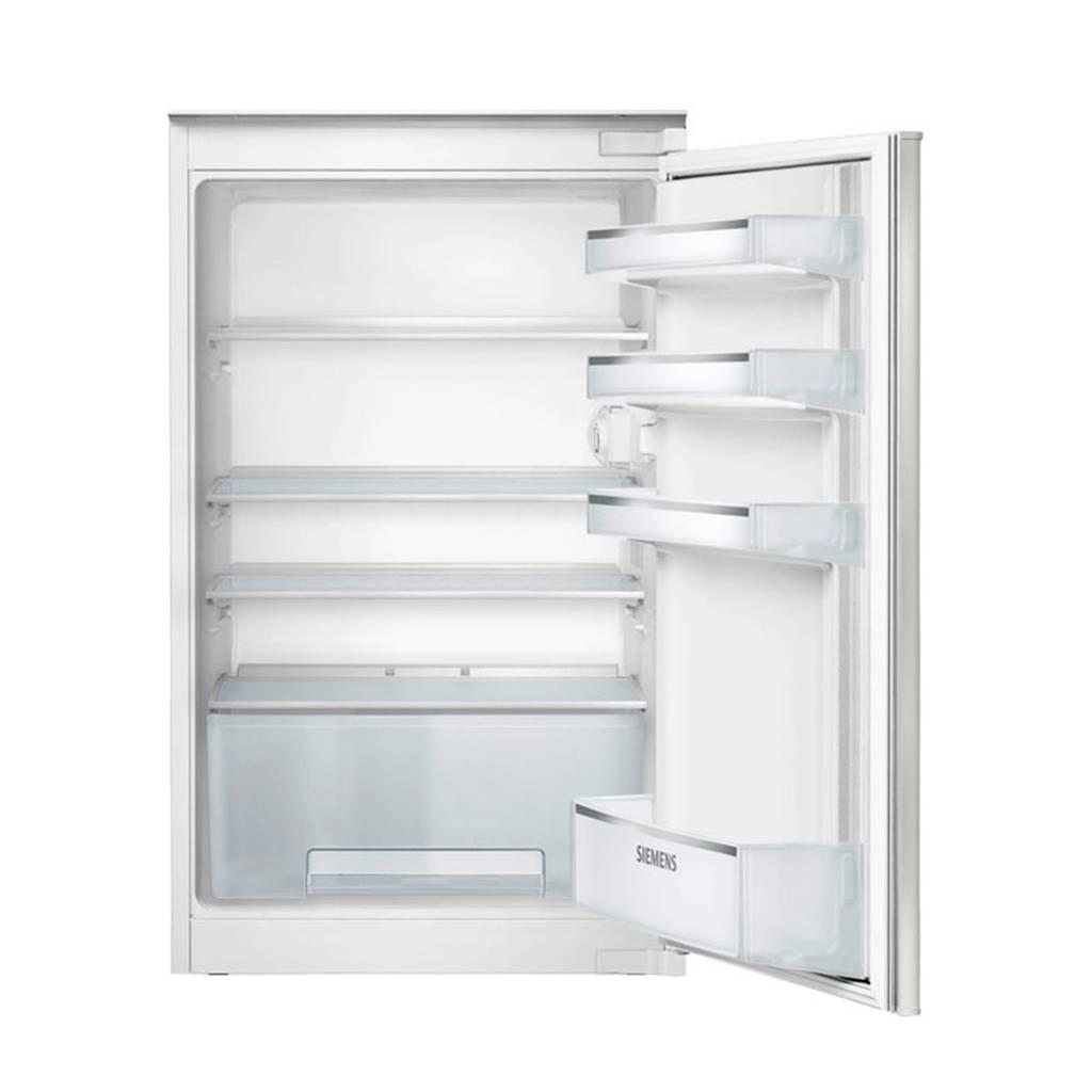 Siemens KI18RV20 inbouw koeler 88 cm, Wit
