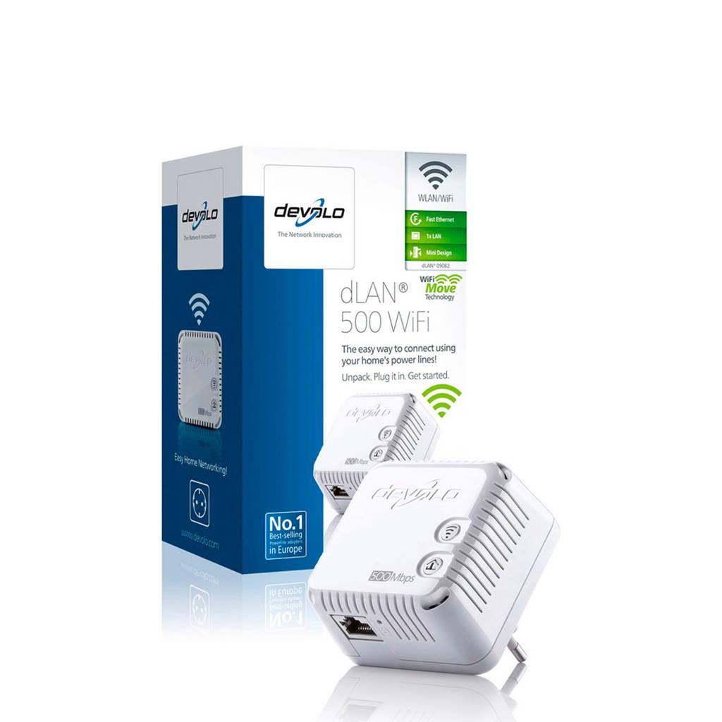 Devolo dLAN 500 Wi-Fi Powerline adapter, Wit