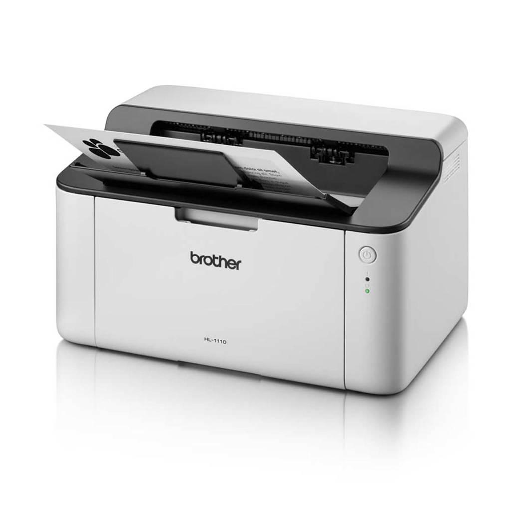 Brother HL-1110 laserprinter, Zwart, wit