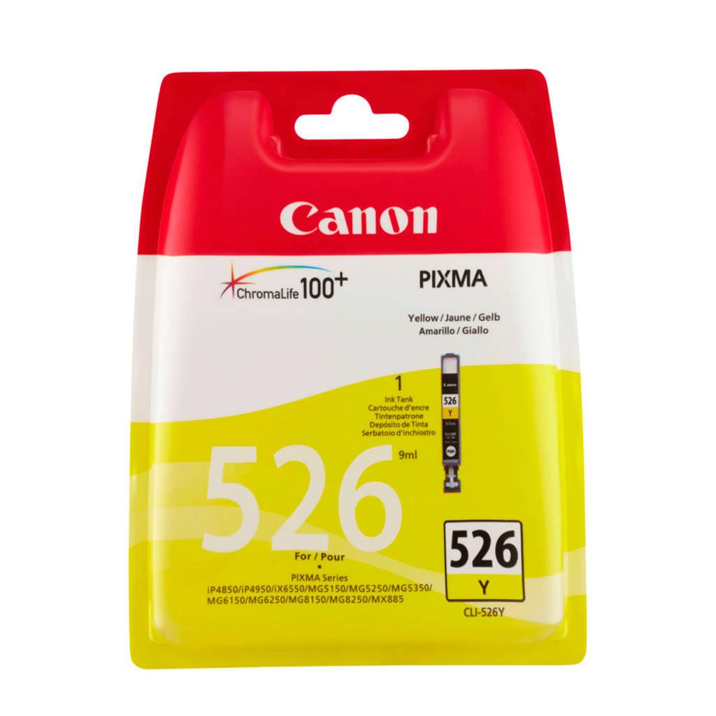Canon CLI526Y cartridge (geel), Geel