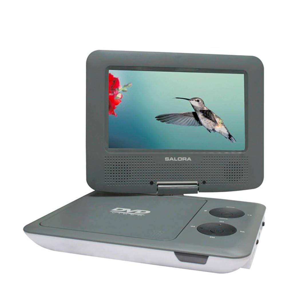 Salora DVP7009SW portable DVD speler, -