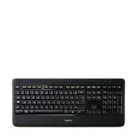 Logitech K800 WIRELESS ILLUM KEYB toetsenbord K800, Zwart