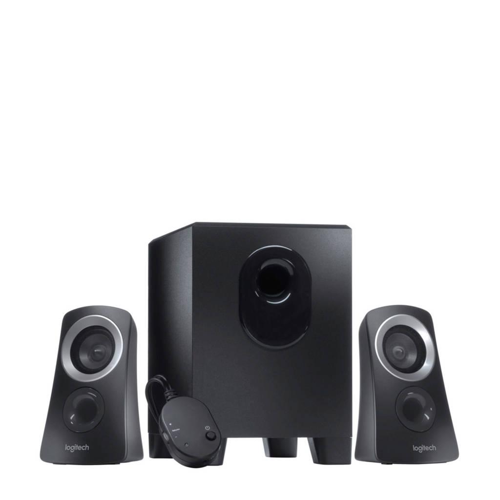 Logitech Z313 multimedia speakersysteem, Zwart