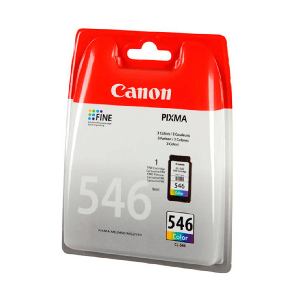 Canon CL546 cartridge (kleur0, Geel, Cyaan en Magenta