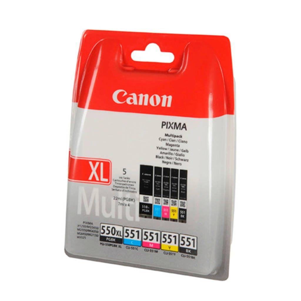 Canon PG550CL551 cartridge voordeelpak, Multi