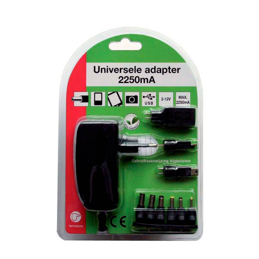 TBT TBT162250 universele adapter, Zwart