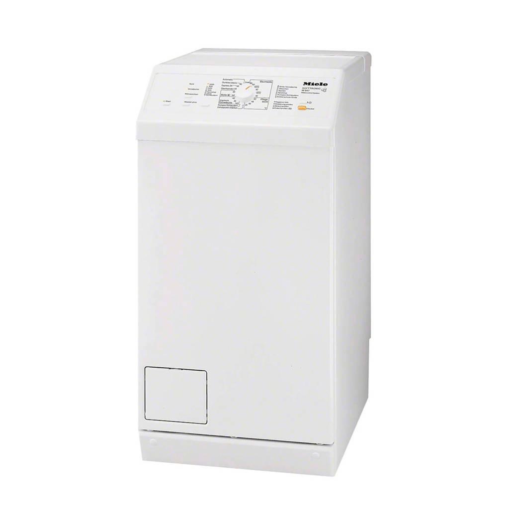 Miele W667 wasmachine bovenlader