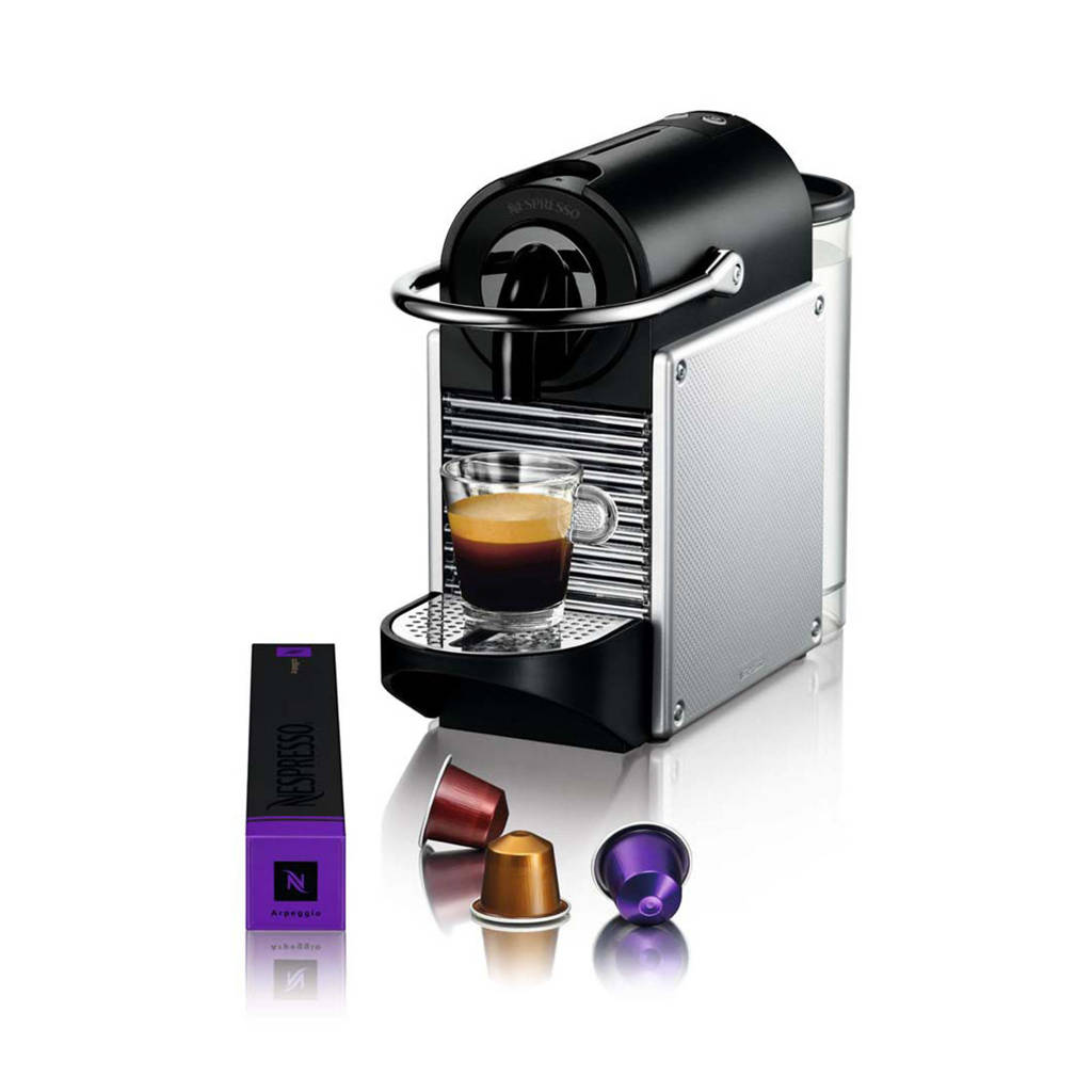 Magimix Pixie Electric Aluminium M110 Nespresso machine, Zilver