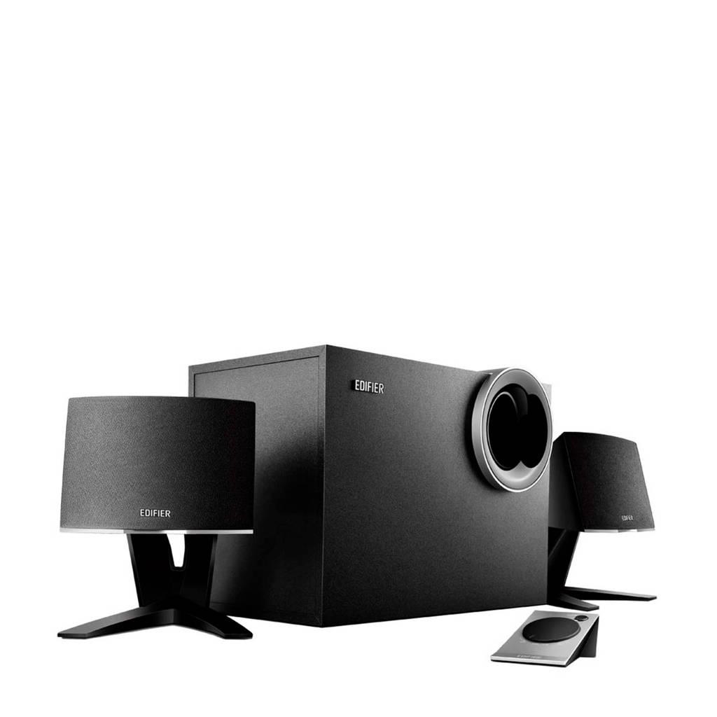 Edifier M1380 multimedia speakersysteem, Zwart