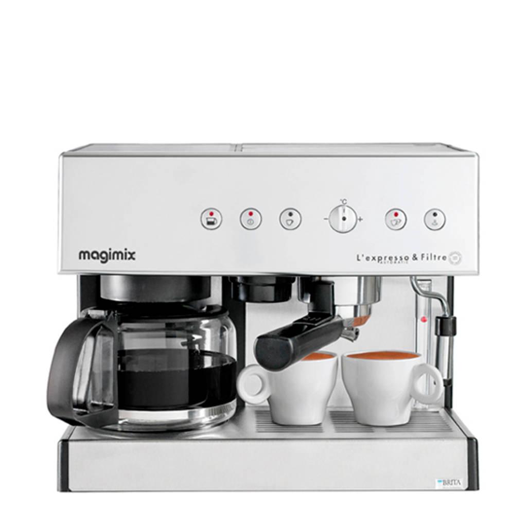 Magimix Expresso & Filtre espressomachine, Chroom