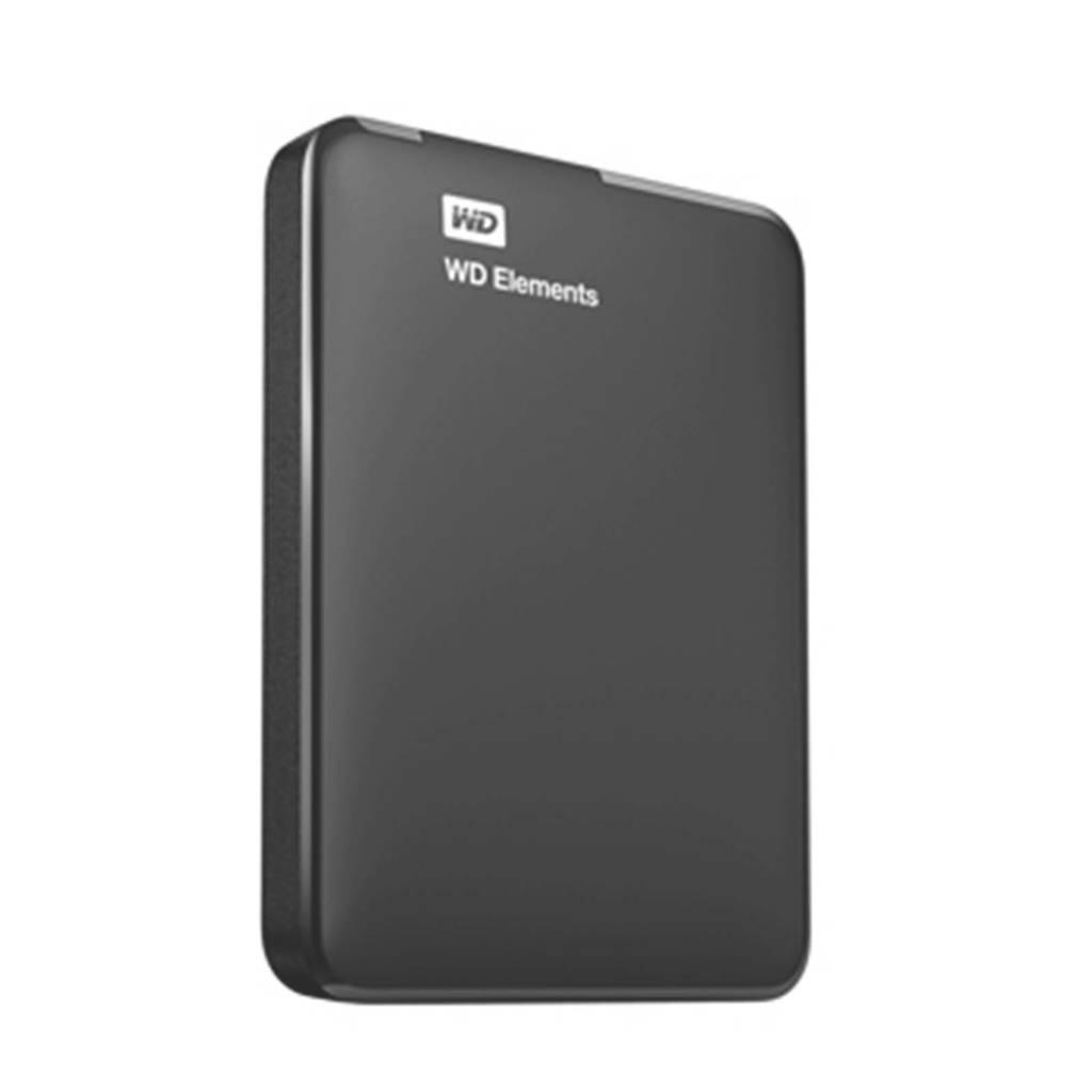 WD Elements Portable SE 2TB USB 3.0 2.5In Externe harde schijf, Zwart