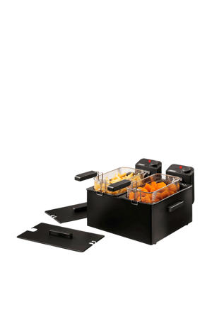 Double Black Fryer 183028 duo-friteuse
