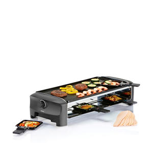 162840 Raclette 8 Grill en Teppanyaki Party