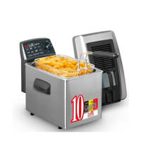 Fritel SF4371 Friteuse, Anthracite,Stainless steel