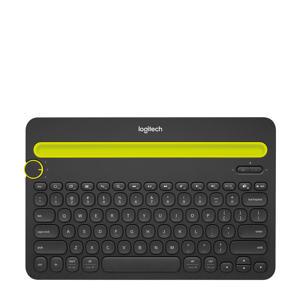 K480 bluetooth multi-device toetsenbord