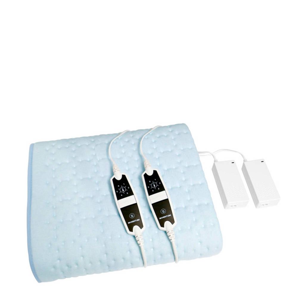 Inventum HNL4212Z 2 persoons elektrische deken, Blauw