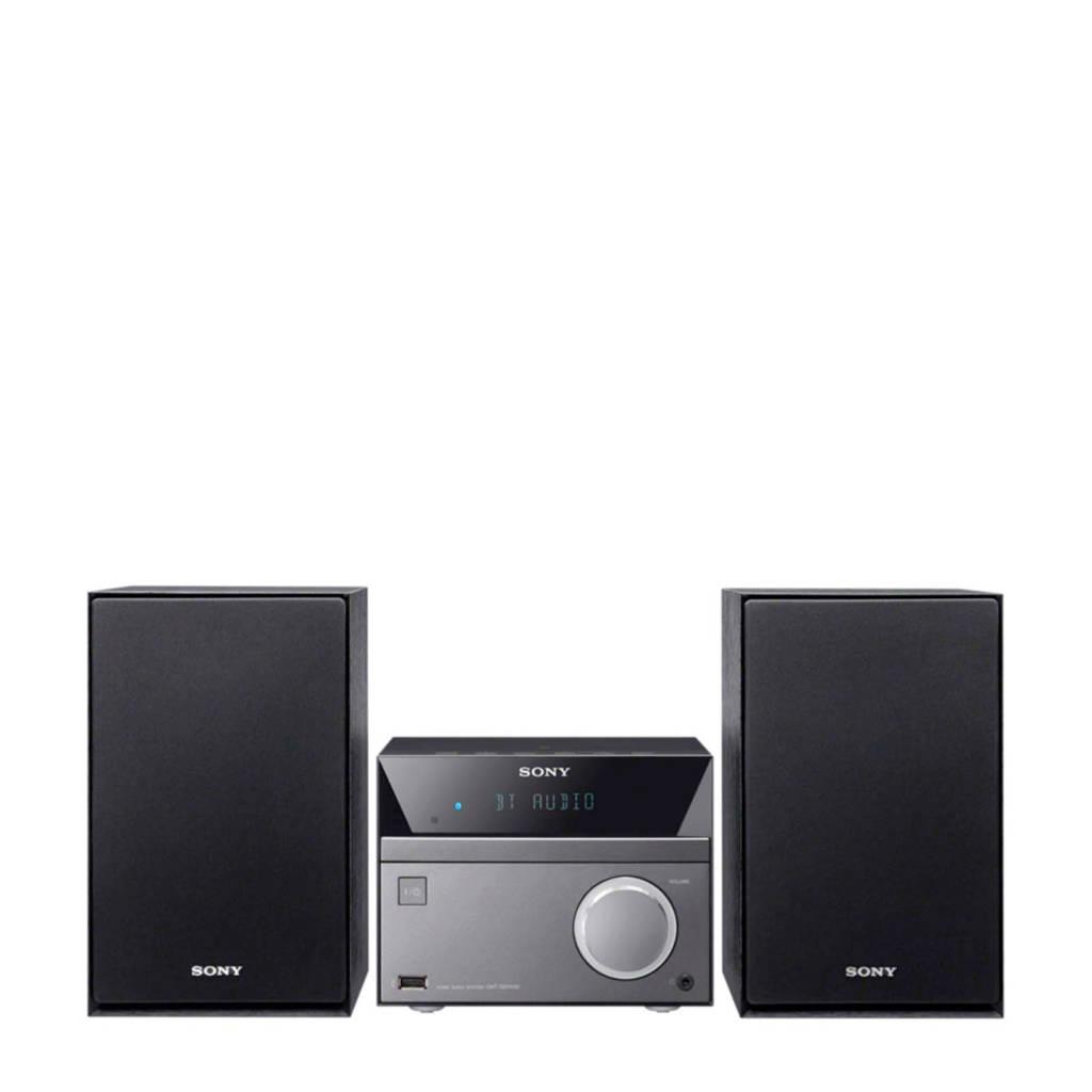 Sony CMTSBT40 Hi-Fi set met bluetooth, Zwart