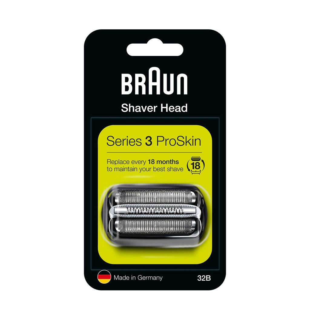 Braun Series 3 32B vervangende scheerkop