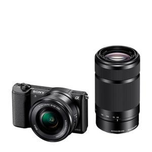 Alpha A5100 + 16-50mm + 55-210mm systeem camera
