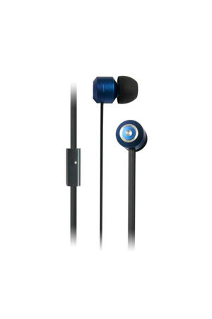 Urban in-ear koptelefoon blauw