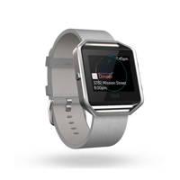 Fitbit Blaze accessoire band leer Large (Grijs)