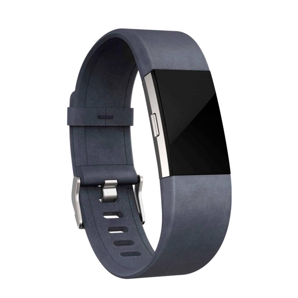 Fitbit leren horlogeband charge 2, Indigo