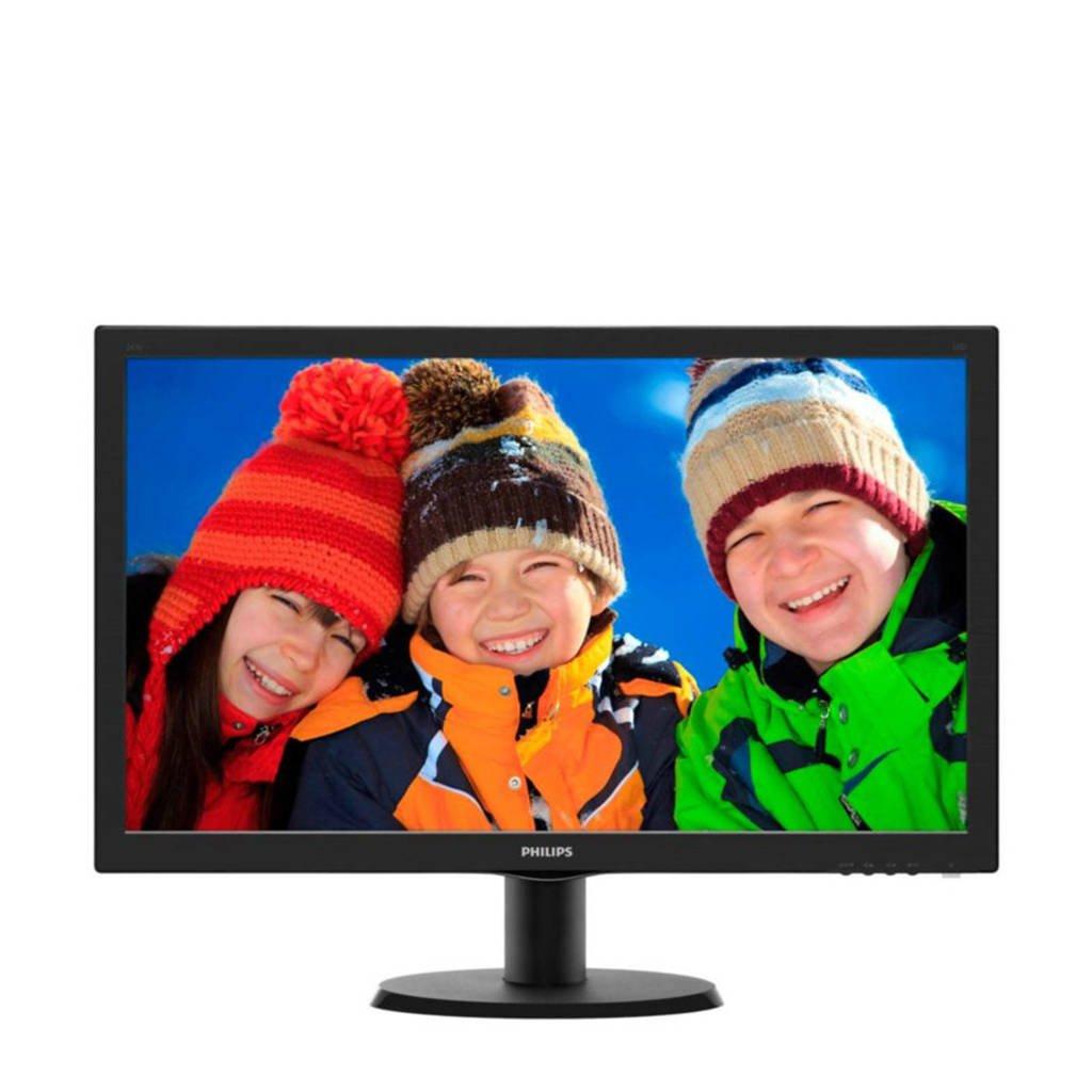 Philips 243V5LHAB 23,6 inch Full HD monitor, -