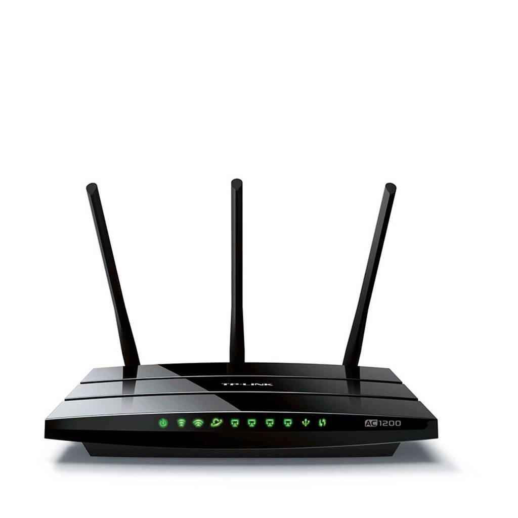 TP-Link Archer C1200 router, Zwart