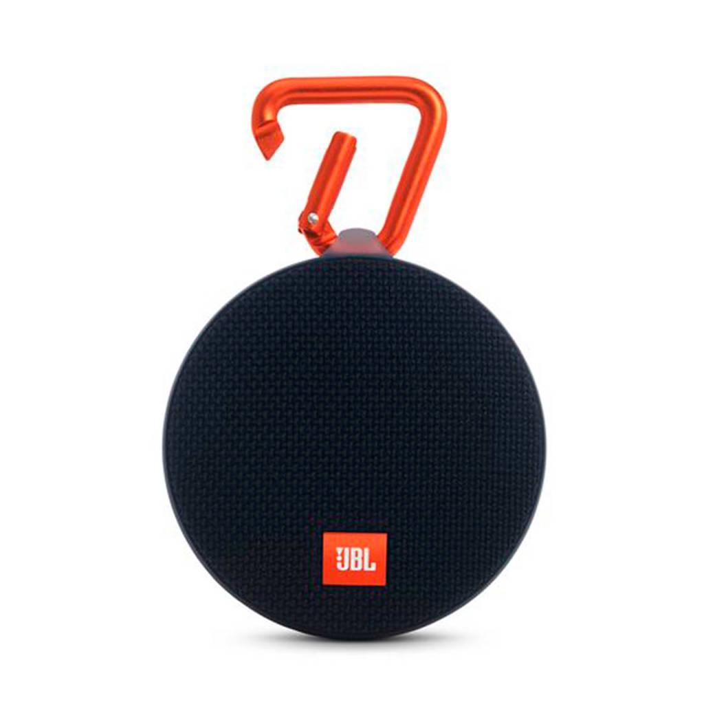 JBL Clip 2  bluetooth speaker zwart, Zwart