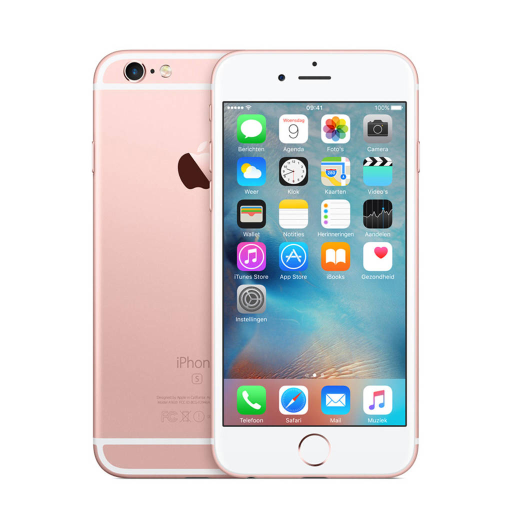 Apple iPhone 6s 128GB, Roze