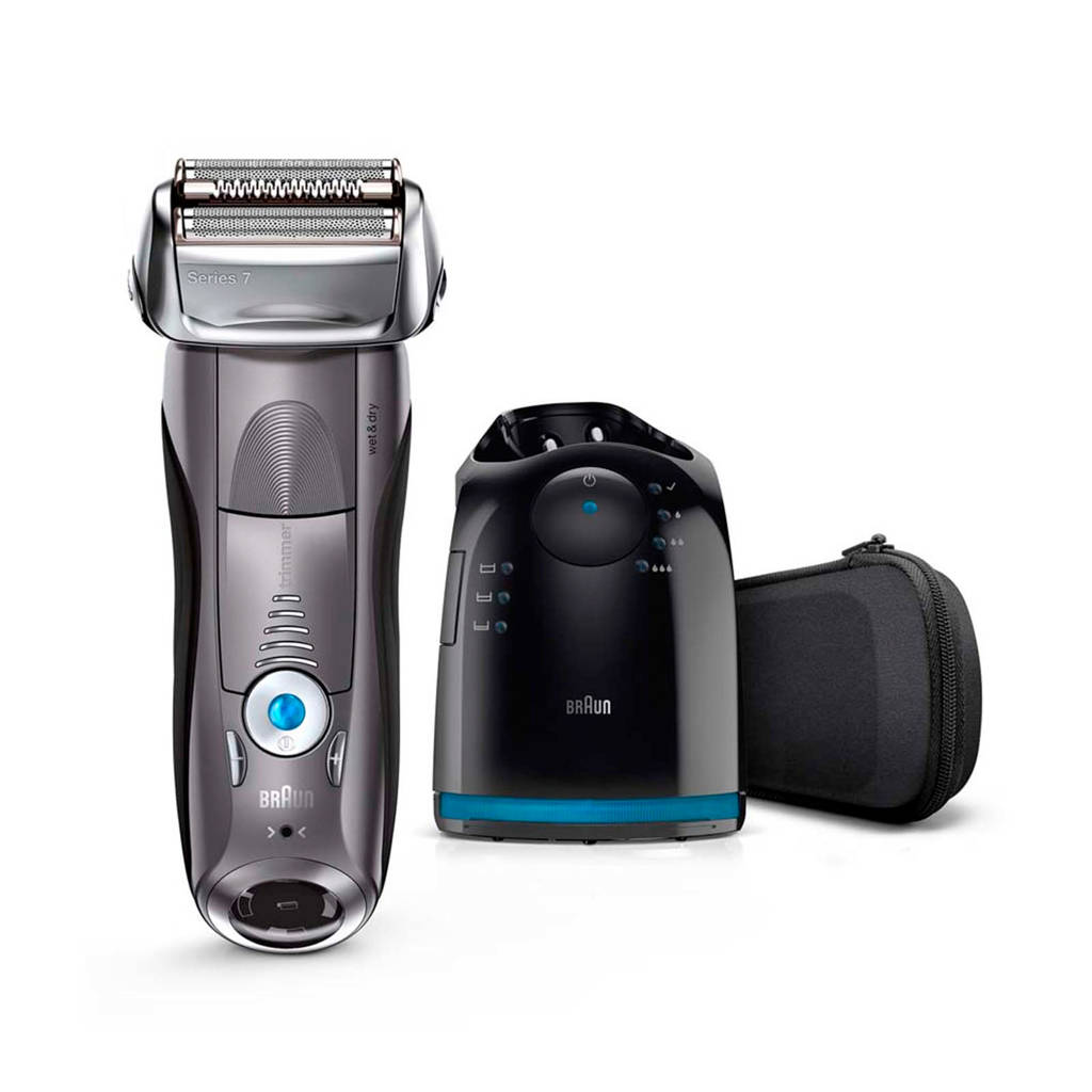Braun Series 7 7865cc Wet & Dry scheerapparaat + Clean & Charge station